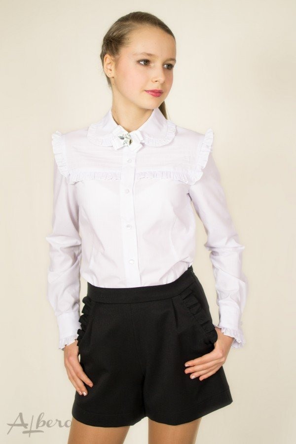 e78ad7157d5 Продано  Наличие распродажа Albero 134 белая блузка рубашка школьная форма  - школьная форма в Харькове