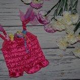 3 - 4 года 98 - 104 см Красивый топик маечка новогодний карнавальный аксессуар к костюму Бабочки или