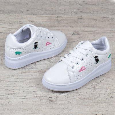 5e52573d1 Слипоны на девочку кроссовки на платформе белые с патчами нашивками на  шнуровке Eternity