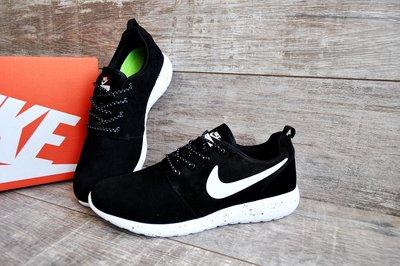 b90cf206c931 Кроссовки мужские Nike Roshe Run black white  650 грн - кроссовки ...