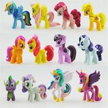 Набор игрушек Май литл пони My Little Pony , 12 шт