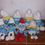 Мягкие игрушки Смурфы Смурфики из мультфильма Дисней DisneyДісней...