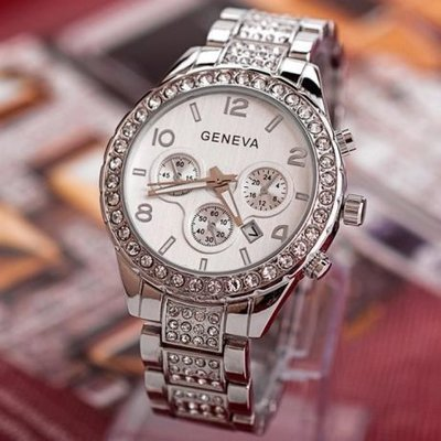 Часы женские Geneva silver