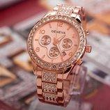 Часы женские Geneva rosa gold