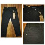 Котоновые брюки черные, синие на мальчиков 116-164 р. для школы. Венгрия Taurus