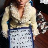 Сережки для кукол формата Барби