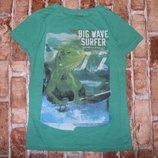 футболка хб Игуана 8лет Некст сток большой выбор одежды 1-16лет