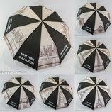Зонтик женский полуавтомат gray city на 10 спиц от фирмы Feeling Rain