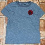 футболка хб Смайлик 2-3года Некст сток большой выбор одежды 1-16лет