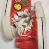 Ботинки кеды тапочки для принцессы smiley размер 28 стелька 17см