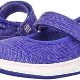 Оригинал Columbia. Мокасины детские EUR 26 16 см туфли в школу кеды девочке