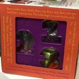 Развивающая игрушка сортер умный куб 12 форм Мягкие цвета battait light