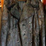 Шуба пальто меховое бобер Германия дубленка