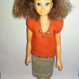 Коллекционная винтажная кукла ссср барбара барби винтаж кристина вероника редкость