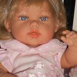 роскошная виниловая кукла Ариас Elegance Natal Rosa Arias Испания оригинал клеймо 33 см