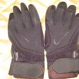 перчатки Nike Fit Dry оригинал кожа текстиль