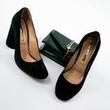 Шикарные туфли на круглом каблуке