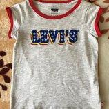 Футболка Levi s, р-р 6-7 лет, рост 116-122 лет