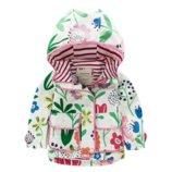 Meanbear Куртка для девочки Flowers Стильная куртка для девочки