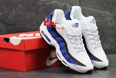 723946de Кроссовки мужские Nike Air Max 95 white/blue, Топ качество: 1020 грн ...
