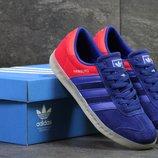 Кроссовки мужские Adidas Hamburg blue/red