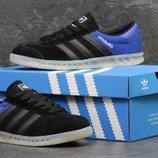 Кроссовки мужские Adidas Hamburg black/blue