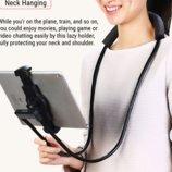 Подставка Holder REMAX RM-C27 4-10 дюймов для телефона и планшета на шею
