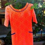 Стильное платье женское р. 46