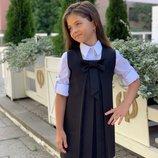 сарафан школа, школьный сарафан, школьное платье