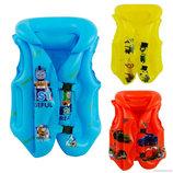 Детский плавательный жилет Герои размер 3 - 6 лет