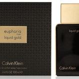 Мужская парфюмированная вода Liquid Calvin Klein Gold Euphoria Men