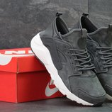 Кроссовки мужские замш Nike Huarache Gray