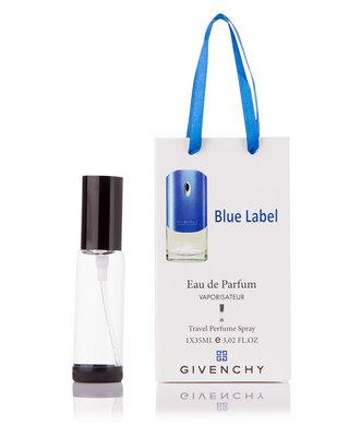 Мужской парфюм Givenchy pour Homme Blue Label 35 мл в подарочной упаковке