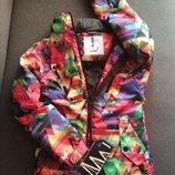 Яркая куртка для девушек и женщин. Демисезонная куртка. На теплую зиму. Уценка