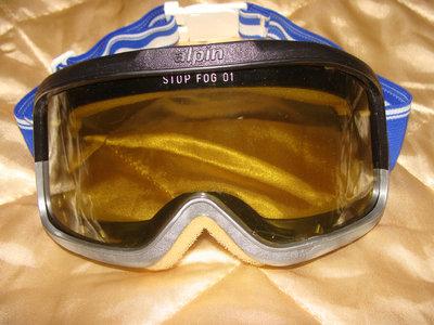 маска очки Аlpin оригинал Франция винтаж Uvex Alpina