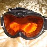 маска детская лыжная Bloc оригинал очки Uvex Alpina