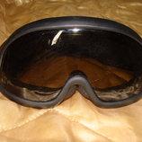 маска лыжная очки эластичная оправа Uvex Alpina винтаж