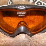 маска детская лыжная Uvex clima zone оригинал Германия Alpina
