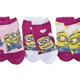 Набор коротких носочков для девочки Lidl Германия