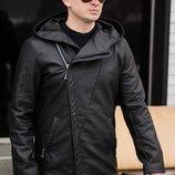 Куртка мужская косуха удлиненная 44,46,48