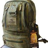Молодежный рюкзак Голд би. Выбор. Мужской рюкзак. Школьный портфель Gold Be