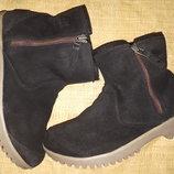 38р-25 см замша ботинки Sorel waterproof