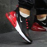 Кроссовки мужские Nike Air Max 270 black/red