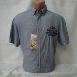 Мужская рубашка с коротким рукавом Canda. Разные цвета.