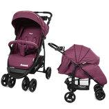 Коляска прогулочная CARRELLO Avanti CRL-1406 Purple в льне