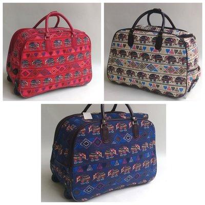 d3991d35a3b9 Дорожная сумка на колесах с выдвижной ручкой, среднего размера  650 ...