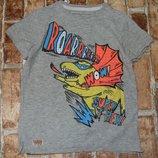 футболка хб 5лет Некст сток большой выбор одежды 1-16лет