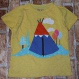 футболка хб 3-4года Некст сток большой выбор одежды 1-16лет