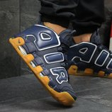 Кроссовки Nike Air More Uptempo 96 dark blue