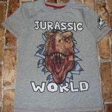 футболка Динозавр 9-10лет Джорж сток большой выбор одежды 1-16лет